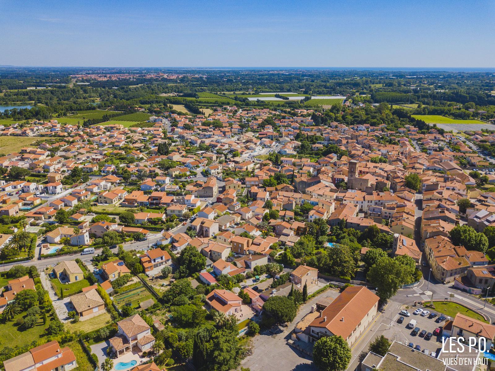 Palau-del-Vidre - Vue du village